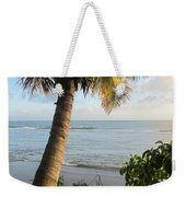 Beach Under The Palm 4 Weekender Tote Bag