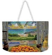 Beach View Weekender Tote Bag