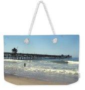 Beach View With Pier 2 Weekender Tote Bag
