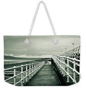 Beach Walkway Weekender Tote Bag by Tom Gowanlock
