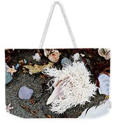 Beach Wares - Shells - Feather Weekender Tote Bag