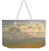 Beach Waves Weekender Tote Bag