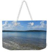 Beach Waves Wide Weekender Tote Bag