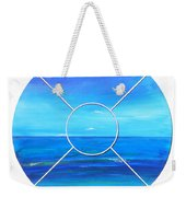 Beach Window Weekender Tote Bag