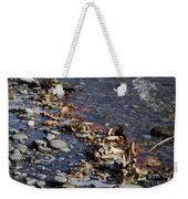 Beach With Stones Weekender Tote Bag