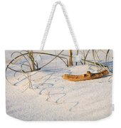 Beach Wood And Curly-q Weekender Tote Bag
