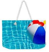 Beachball On Pool Weekender Tote Bag
