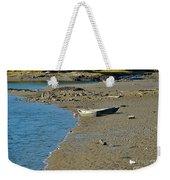 Beached Dinghy Weekender Tote Bag