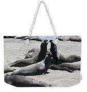 Beachmasters - Elephant Seals Weekender Tote Bag