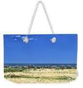 Beachouses As Seen From Jockey's Ridge State Park Weekender Tote Bag