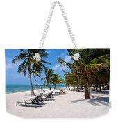 Beachy Belize Weekender Tote Bag