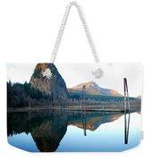 Beacon Rock Reflecions Weekender Tote Bag