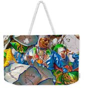 Bead Tossing Weekender Tote Bag