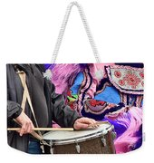 Beads And Feathers At Mardi Gras Weekender Tote Bag