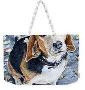 Beagle In Autumn Weekender Tote Bag