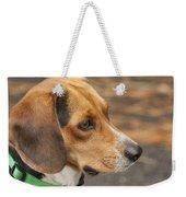 Beagle Loyalty Weekender Tote Bag