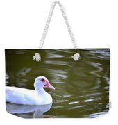 Beak And Feather Reflections Of The Muscovy  Weekender Tote Bag
