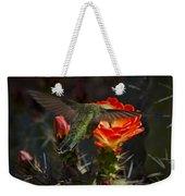 Beak Deep In Nectar  Weekender Tote Bag