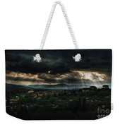 Beams Of Light Over Florence Weekender Tote Bag