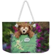 Bear And His Girl Weekender Tote Bag