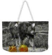 Bear And Pumpkins Weekender Tote Bag