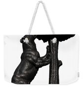 Bear And The Madrono Tree Weekender Tote Bag by Fabrizio Troiani
