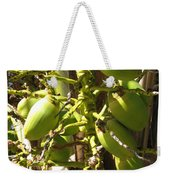 Bear Fruit Weekender Tote Bag