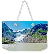 Bear Glacier Near Stewart-british Columbia  Weekender Tote Bag
