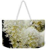Bear Grass Flowers Glacier National Park Weekender Tote Bag