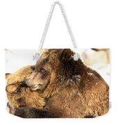 Bear Hug Weekender Tote Bag