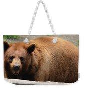 Bear In The Bath Weekender Tote Bag