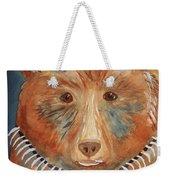 Bear Medicine Weekender Tote Bag by Ellen Levinson