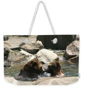 Bear Smooches Weekender Tote Bag
