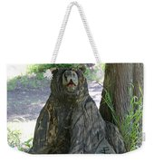 Bear In A Tree Weekender Tote Bag
