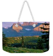 Bear Valley Glacier National Park Weekender Tote Bag