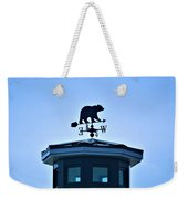Bear Weathervane Weekender Tote Bag