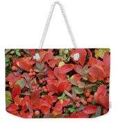 Bearberry In Autumn Yukon Canada Weekender Tote Bag