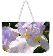 Bearded Iris Weekender Tote Bag