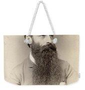 Bearded Man Weekender Tote Bag