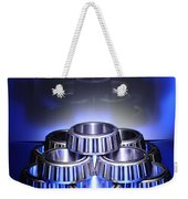 Bearings In Blue Weekender Tote Bag