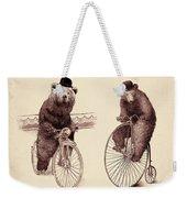 Bears On Bicycles Weekender Tote Bag