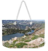 Beartooth Wildflowers Weekender Tote Bag