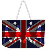 Beatles Abbey Road Flag Weekender Tote Bag