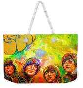 Beatles Rubber Soul Weekender Tote Bag