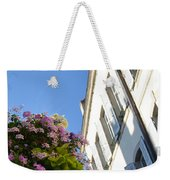 Windows With Flowers Weekender Tote Bag