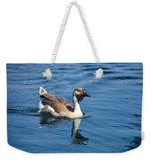 Beautiful African Brown Goose Weekender Tote Bag