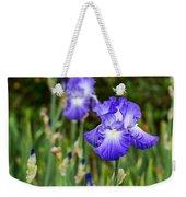 Beautiful And Colorful Iris. Weekender Tote Bag