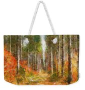 Beautiful Autumn Weekender Tote Bag
