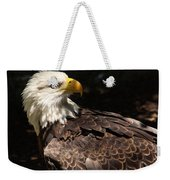 Beautiful Bald Eagle Weekender Tote Bag