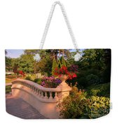 Beautiful Balustrade Fence In Halifax Public Gardens Weekender Tote Bag